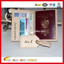 Personalized Genuine Leather Passport Holder Passport Cover Passport Wallet Sets