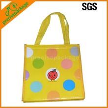 hot sale resuable cute lamination non woven shopping bags