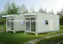 2015 Chrismas popular prefabricated villa, prefabricated home, modern prefab houses with CE approved