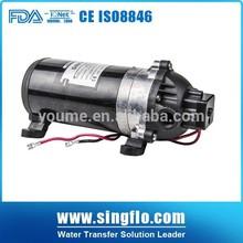 Singflo electric vehicle washing pumps/car wash pressure machine pump/micro pump high pressure