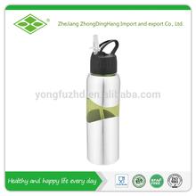 BPA free 750ml alkaline ionized water bottle with straw