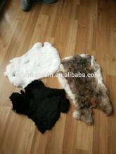 Good Quality Genuine Raw Rabbit Skin Faux Rabbit Fur Vest
