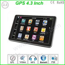 Peomotion 4.3''TFT LCD car gps navigator free map