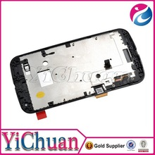 lcd digitizer for Moto G2 replacement, for Moto G2 lcd screen White Black in stock