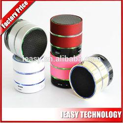 Newest design best bluetooth speaker wireless mini speaker LED loudspeaker with USB FM radio