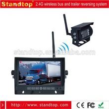 7'' monitor 2.4G wireless reversing camera kit