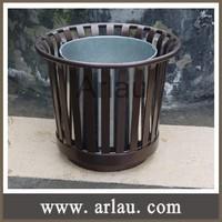 Arlau FB75 outdoor garden metal flower pot