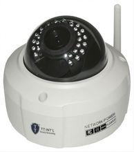 1.3mp Vandalproof DOME ip camera outdoor poe remote focus