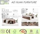 HOT design 4sets computer workstation modular good quality made by ao huan