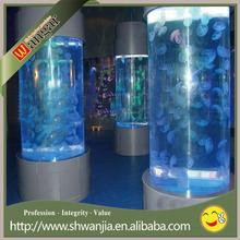 Acrylic large fish tank aquarium fish tank cylindrical fish tank