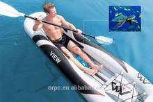 Aqua Marina VIEW Inflatable Kayak/See Through Kayak/Kayak Paddle BT-88864/88865
