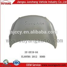 Suyang Auto Spare Parts Bonnet for Hyundai Elantra 2012