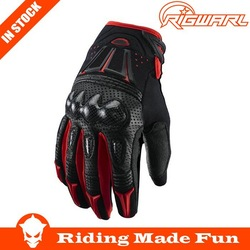 RIGWARL Best Protective Black Gloves Motorcycle With OEM Service