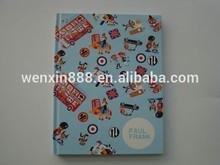 cartoon monkey pattern cardboard cover notebook