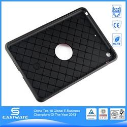 3 in 1 hard mobile phone case for ipad mini s shape tpu cover