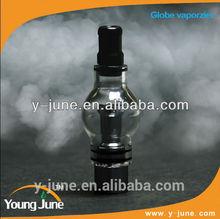 high quality glass globe vaporizer pen/ wax dab glass vaporizer dab pen globe atomizer hot sell