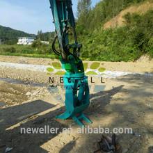 2014 newell double drive wheel excavator grab wood machine excavator bucket tooth