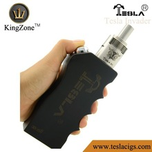 Wooden box mod with high end original design wholesale by Tesla shipper