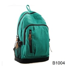B1004 New 2014 Casual Women's Colorful Canvas Backpacks Girl Lady Student School Travel bags Mochila