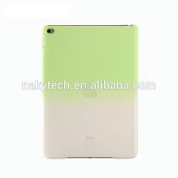 Graduate color translucent hard pc cover case for ipad mini 3,supper thin /ultra-thin phone accessories
