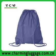 Wholesale nylon beach bag /blue drawstring beach bag