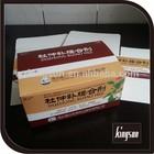 gloss lamination paper box pill packing box