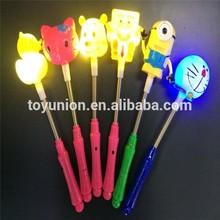 Party gift led flashing light stick cartoon led stick custom led light stick