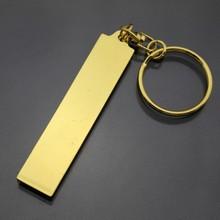 wholesale promotion custom logo printed blank metal keyrings manufacturer in China