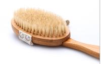 best selling natural bristle body cleaning brush boar bristle brush