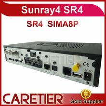 Sunray sima8p sunray sr4 a8p sim card Linux decoder sunray4 sr4 a8p 800se Triple tuner DVB-S(S2)/C/T2 +Wifi sunray4 sim a8p