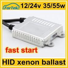 Hylux ballast fast start HID xenon digital ballast 12V/24V 35W/55W