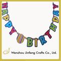 diy data de papel artesanato decoração carta de aniversário banner