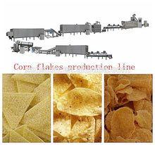 roasted corn flakes processing line,oats corn flakes machine,corn chips machinery