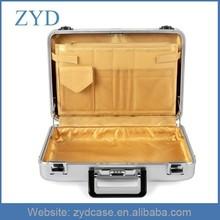 How To Import Travel Fabric Pocket Aluminum Portfolio Attache Case Aluminum Briefcase ZYD-SM112004