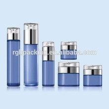 wholesale popular style glass skin care 50g cream empty jar cosmetic compact packaging
