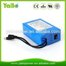 OEM/ODM li-ion battery pack 12v 10ah for led light/strip,CCTV/IP camera