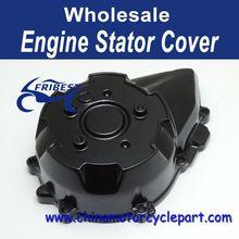 Black Aluminum Engine Stator Cover Crankcase For Kawasaki Z1000 2007-2010 2008 FECKA031
