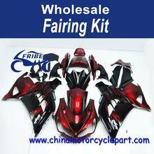 Fairing Kit For Kawasaki Zx 14r ZX14R 2012-2014 Red And Black FFKKA024