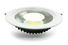 Ultra slim 10W COB CE led downlight 3 years warranty