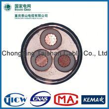 Factory Wholesale 15kv 3x240mm lv/mv/hv cu/al conductor swa underground cable