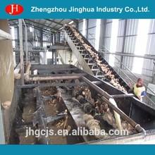 China cassava flour processing plant equipment