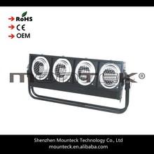 Mounteck Par 36 4 eyes RGBW led blinder stage lighting mixer strobe effect blinder light