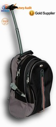 2015 design sport backpack travel trolley backpack with aluminum trolley for youngs