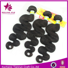 ally express hight quality products human hair extensions body wave 100% human peruvian virgin hair