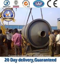 waste oil machinery, waste engine oil distillation machine,tire oil to diesel and gasoline china pyrolysis