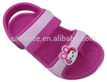 2015 cute girls child eva sandals