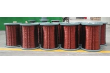 Hot sale Class 130--155 polyester round or flat enameled aluminum wire for welding