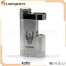 High quality e cigarette kato popular kato mod box 18500