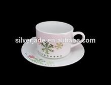 cup and saucer ceramics