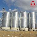 Cône en acier bas farine de grain silos de stockage/farine, silos de stockage